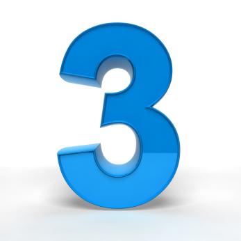 3 という数字の話 erpコンサルティングルーム